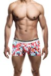MaleBasics Hipster Trunk Underwear Red Pixels MB201