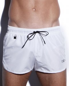 Alexander Cobb Solid Shorts Swimwear Lace White 6CSWSH-27