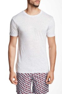 Mr.Swim The Casual Short Sleeved T Shirt Fleck Cream