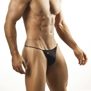Joe Snyder G String 02 Black Underwear & Swimwear