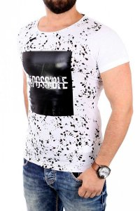 Carisma Impossible Wetlook 16011-1 CRSM 4305 Short Sleeved T Shirt White