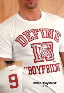 Ajaxx63 Regular Fit Define Boyfriend Short Sleeved T Shirt RF27