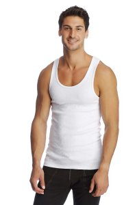 4-rth Edge Sustain Tank Top T Shirt White