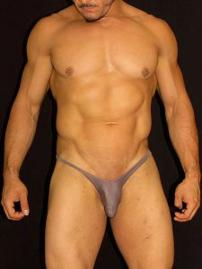Arroyman Bulge Bud Thong Underwear Coffee BUD07