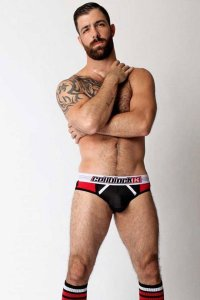 CellBlock 13 Dugout Brief Underwear Red CUB061