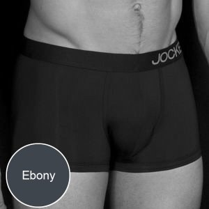 Jockey Performance Plus Boxer Brief Underwear Ebony