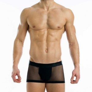 Modus Vivendi Transparent Boxer Brief Underwear Black 19621