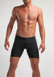 Geronimo Jammer Swimwear Black 1225B9