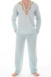 L'Homme Invisible Kassapa Ensemble Pyjamas Loungewear Sky Bl...