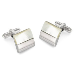 Duncan Walton Galsworthy Cufflinks Mother Of Pearl C2676B