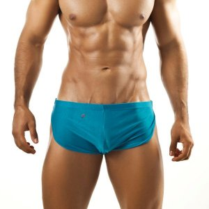 Joe Snyder Running Shorts 09 Turquoise Sportswear