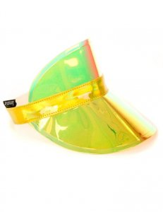 Fydelity Retro Electric Visor Hat Electro Gold 20124