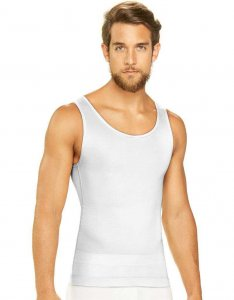 Diane & Geordi Shapewear Tank Top White 3301