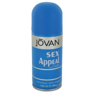 Jovan Sex Appeal Deodorant Spray 5 oz / 147.87 mL Men's Frag...