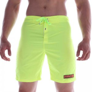 MIIW Physique Boardshorts Beachwear Neon Green 4706-07
