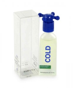 Benetton Cold Eau De Toilette Spray 3.4 oz / 100 mL Men's Fragrance 401457