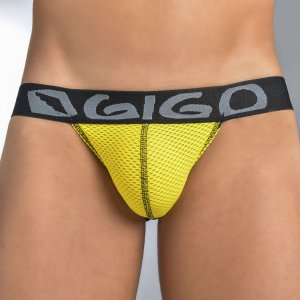 Gigo SEX YELLOW G String Underwear