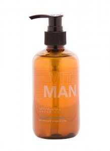 VitaMan Face & Body Cleanser With Organic Lemon Myrtle 8.5 o...