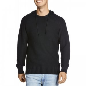 Bonds Knit Hoodie Long Sleeved Sweater Black AZS3I