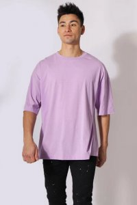 Jed North Energy Oversized Short Sleeved T Shirt Purple JNTO...