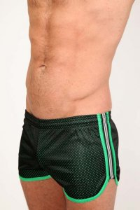 Pistol Pete Scrimmage Shorts Black/Green SH125-628