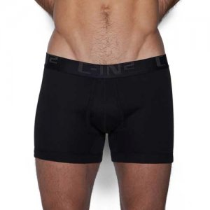 C-IN2 Core Profile Boxer Brief Underwear Black 4034