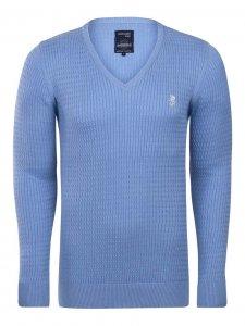 Giorgio Di Mare Jersey Long Sleeved Sweater Blue GI9588805