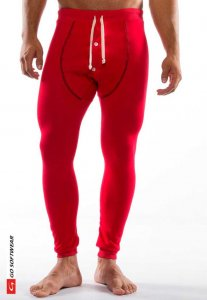 Go Softwear Lumber Jack Long Johns Long Underwear Pants Red ...