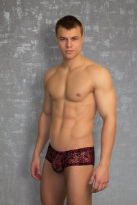 Doreanse Lace Boxer Brief Underwear Black 1585
