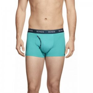 Bonds Hipster Guy Front Trunk Underwear Aqua 3ZVJ