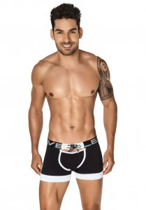Clever Punch Boxer Brief Underwear Black 2195