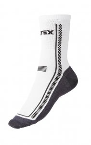 Litex Crew Socks White 99615