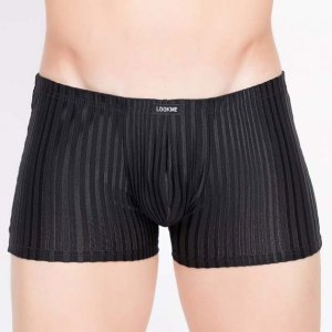 Lookme Wellness Boxer Brief Underwear Black 703-67