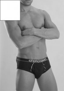 Geronimo Brief Underwear White 833S1