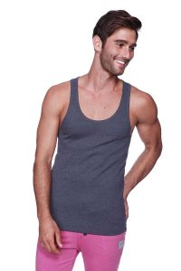 4-rth Sustain Tank Top T Shirt Charcoal