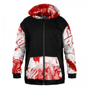 Mr. Gugu & Miss Go Bloody Unisex Zip Up Mix Hoodie HK-MIX1651