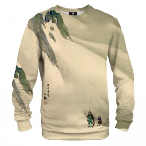Mr. Gugu & Miss Go River Sky In Evening Snow Unisex Sweater S-PC1670