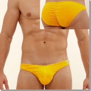 Modus Vivendi Bon Bon Butt Enhancement Mini Brief Underwear Yellow 20115