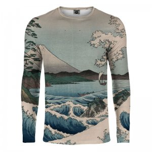 Mr. Gugu & Miss Go The Sea Of Satta Long Sleeved T Shirt LS-...