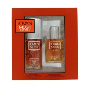Jovan Musk 2 oz / 59.15 mL Cologne Spray + 2 oz / 59.15 mL A...