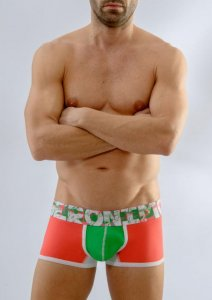 Geronimo Boxer Brief Underwear Orange 1668B1-4