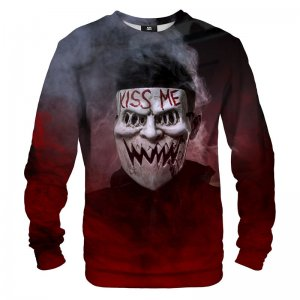 Mr. Gugu & Miss Go Kiss Me Unisex Sweater S-PC1361
