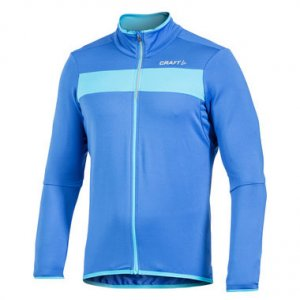 Craft Move Thermal Jersey Long Sleeved Sweater Royal/Aquamarine/White 1902925