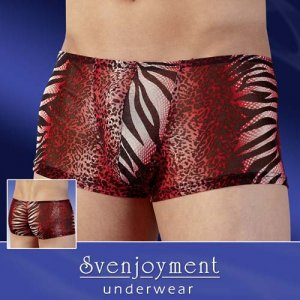 Svenjoyment Animal Powernet Boxer Brief Underwear 2130696