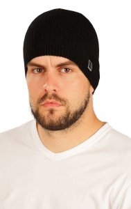 Litex Solid Knitted Beanie Black 51515
