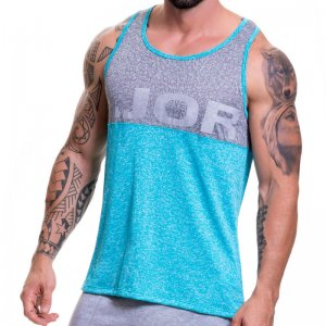 Jor PLAY Tank Top T Shirt Turquoise 0519