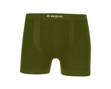 Lupo Micromodal Seamless Boxer Brief Underwear Green 661-01