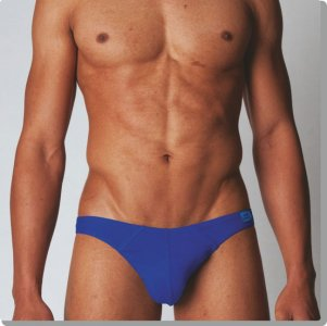 Modus Vivendi Colour Explosion Plain Mini Brief Underwear Blue 11112