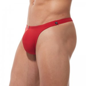Gregg Homme CALIENTE Thong Swimwear Red 170625
