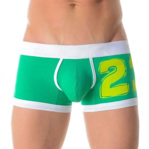 Jor NUMBERS GREEN Boxer Underwear